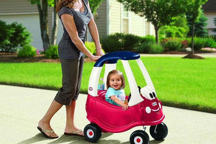 Jeździk - pierwszy samodzielny pojazd dla dziecka